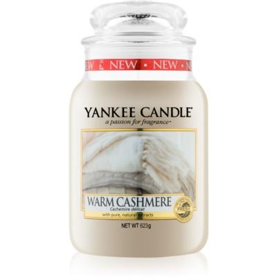 Yankee Candle Warm Cashmere dišeča sveča   Classic velika