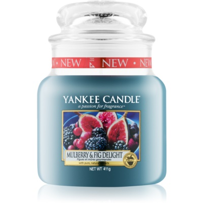 Yankee Candle Mulberry & Fig candela profumata  Classic media