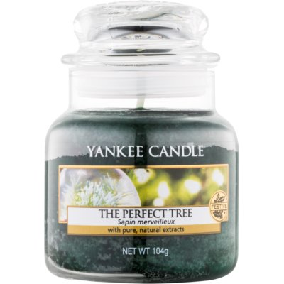 Yankee Candle The Perfect Tree bougie parfumée 104 g Classic petite