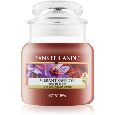 Yankee Candle Vibrant Saffron Αρωματικό κερί 104 γρ Κλασικό μικρό