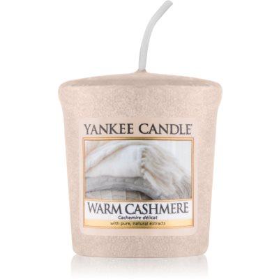 Yankee Candle Warm Cashmere votivní svíčka