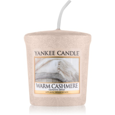 Yankee Candle Warm Cashmere votívna sviečka