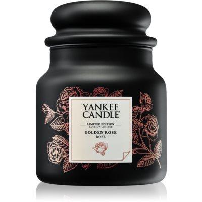 Yankee Candle Golden Rose ароматизована свічка  410 гр середня