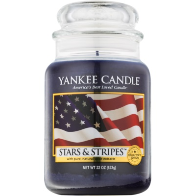 Yankee Candle Stars & Stripes bougie parfumée  Classic grande