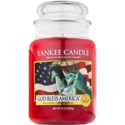 Yankee Candle God Bless America bougie parfumée  Classic grande