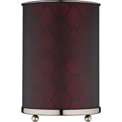 Szklana lampa aromatyczna