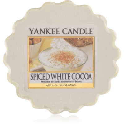Yankee Candle Spiced White Cocoa Wax Melt
