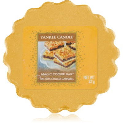 Yankee Candle Magic Cookie Bar tartelette en cire