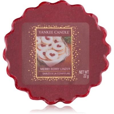 Yankee Candle Merry Berry Linzer Wax Melt