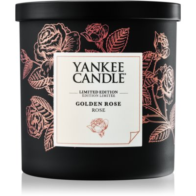 Yankee Candle Golden Rose Scented Candle  mini