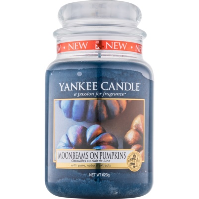 Yankee Candle Moonbeams On Pumpkins vela perfumada   Classic grande