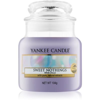 Yankee Candle Sweet Nothings Αρωματικό κερί 104 γρ Κλασικό μικρό