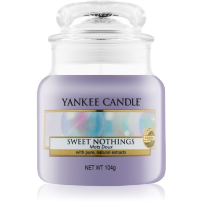 Yankee Candle Sweet Nothings Scented Candle  Classic Mini