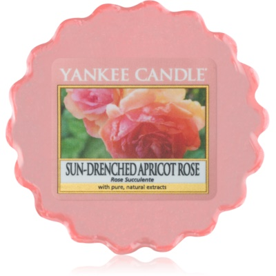 Yankee Candle Sun-Drenched Apricot Rose vaxsmältning