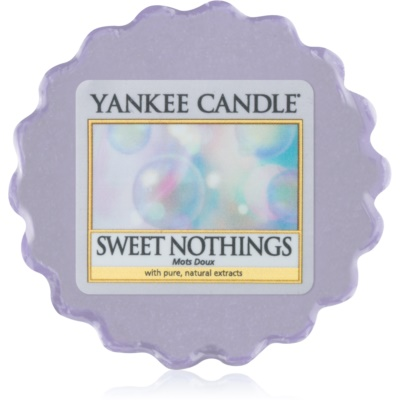 Yankee Candle Sweet Nothings cera para lámparas aromáticas