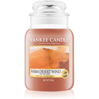 Yankee Candle Warm Desert Wind Αρωματικό κερί 623 γρ Κλασικό μεγάλο