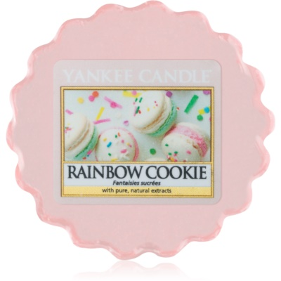 Yankee Candle Rainbow Cookie tartelette en cire