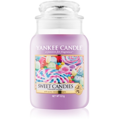 Yankee Candle Sweet Candies bougie parfumée  Classic grande