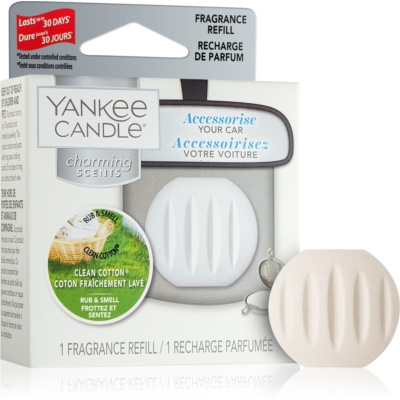 Yankee Candle Clean Cotton Car Air Freshener   Refill