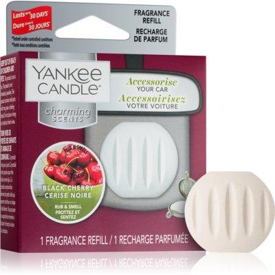 Yankee Candle Black Cherry ambientador de coche para ventilación   recarga de recambio