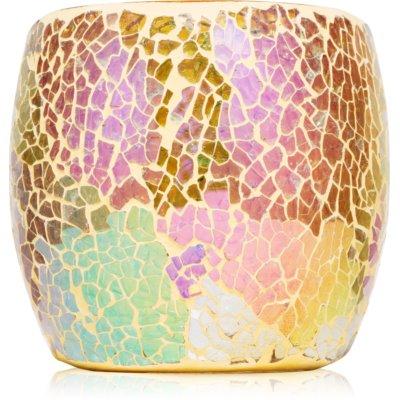 Yankee Candle Glam Mosaic Γυάλινη βάση για αναθηματικά κεριά