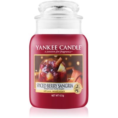 Yankee Candle Spiced Berry Sangria vonná svíčka  Classic velká