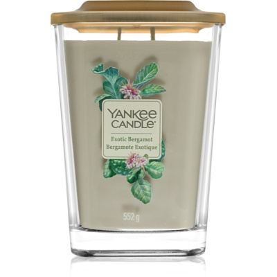 Yankee Candle Elevation Exotic Bergamot Scented Candle  Large