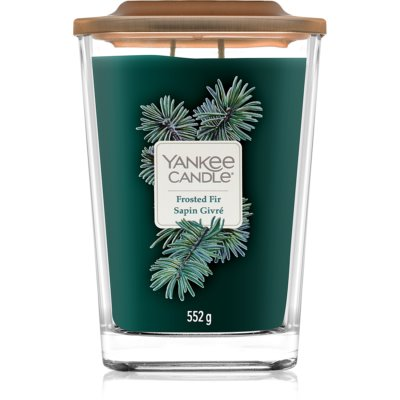 Yankee Candle Elevation Frosted Fir bougie parfumée  grande