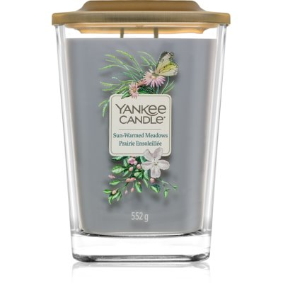 Yankee Candle Elevation Sun-Warmed Meadows bougie parfumée  grande