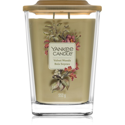 Yankee Candle Elevation Velvet Woods dišeča sveča   velika
