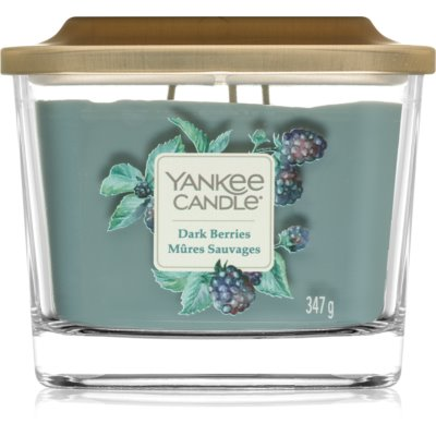 Yankee Candle Elevation Dark Berries Scented Candle  Medium