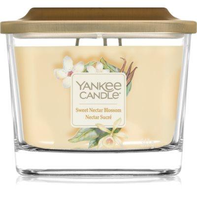 Yankee Candle Elevation Sweet Nectar Blossom dišeča sveča   srednja