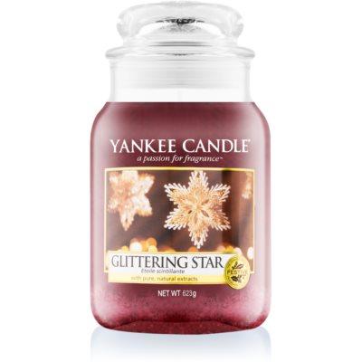 Yankee Candle Glittering Star doftljus Klassisk stor