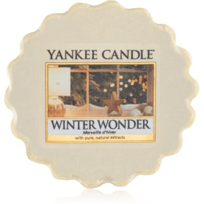 Yankee Candle Winter Wonder tartelette en cire