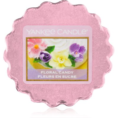 Yankee Candle Floral Candy vosek za aroma lučko  22 g