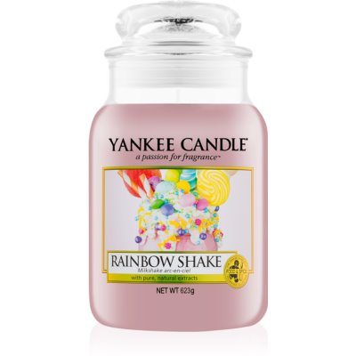 Yankee Candle Rainbow Shake Scented Candle  Classic Large