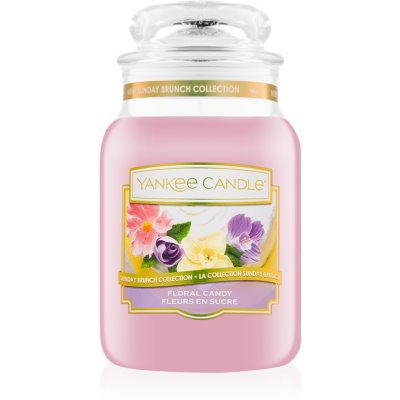 Yankee Candle Floral Candy Scented Candle  Classic Large