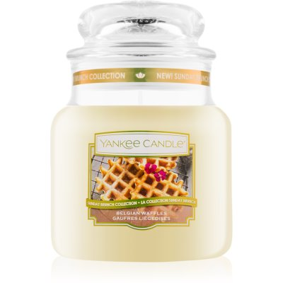 Yankee Candle Belgian Waffles bougie parfumée Classic moyenne