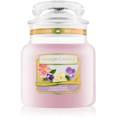 Yankee Candle Floral Candy ароматна свещ  411 гр. Classic средна