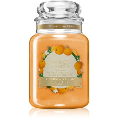 Yankee Candle Orange Dreamsicle mirisna svijeća Classic velika