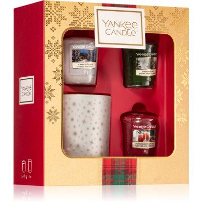 Yankee Candle Alpine Christmas dárková sada XIV.