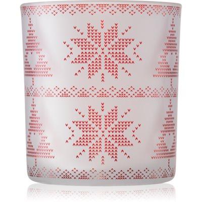 Yankee Candle Red Nordic candeeiro em vidro para vela