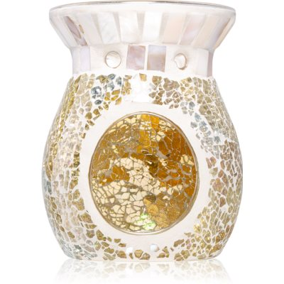 Yankee Candle Gold and Pearl steklena aroma lučka