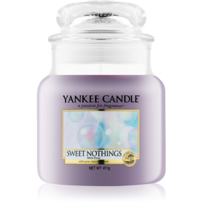 Yankee Candle Sweet Nothings dišeča sveča   Classic srednja