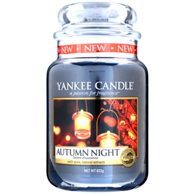 Yankee Candle Autumn Night candela profumata  Classic grande
