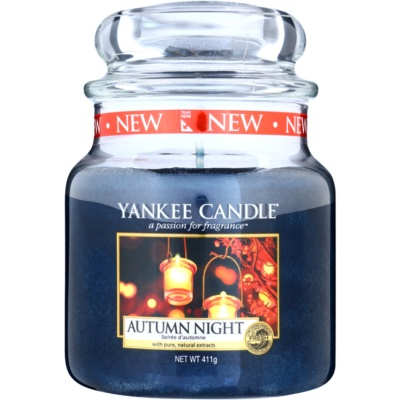 Yankee Candle Autumn Night bougie parfumée  Classic moyenne