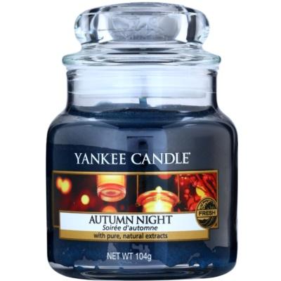 Yankee Candle Autumn Night bougie parfumée  Classic petite