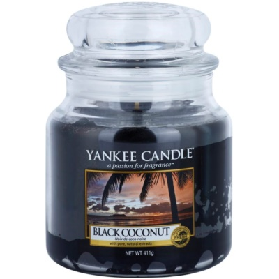 Yankee Candle Black Coconut Scented Candle  Classic Medium