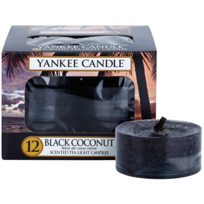 Yankee Candle Black Coconut Tealight Candle