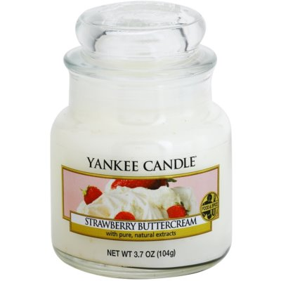 Yankee Candle Strawberry Buttercream Scented Candle  Classic Mini